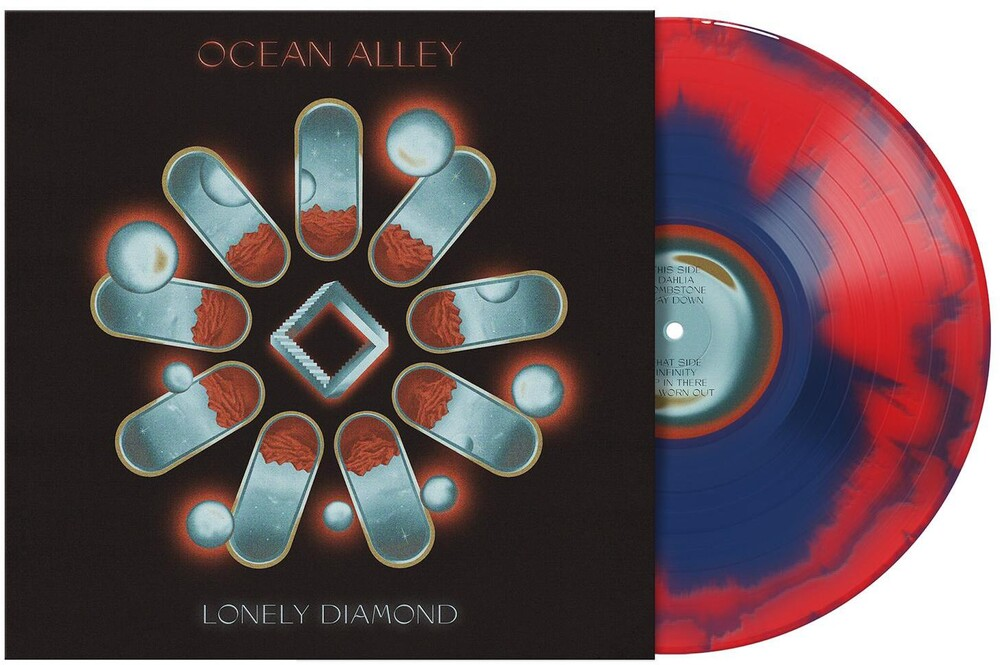 Ocean Alley - Lonely Diamond [Limited Edition Red & Blue Marble LP]