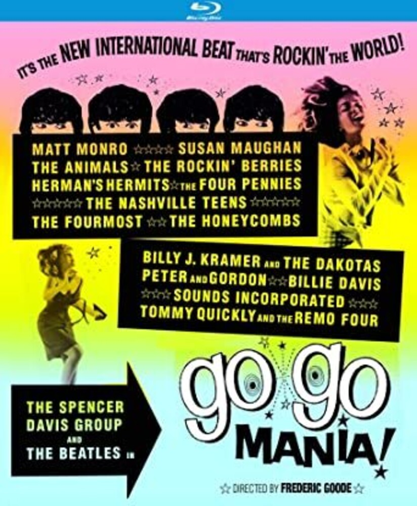 Go Go Mania [Movie] - Go Go Mania (aka Pop Gear) (1965)