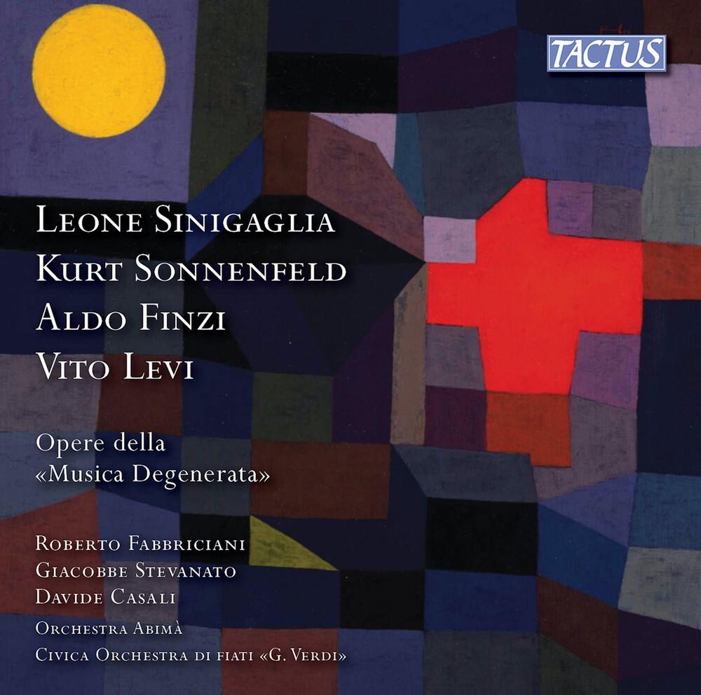 Finzi / Fabbriciani - Opere Della Musica Degenerata