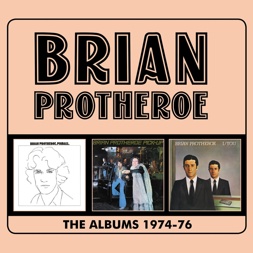Brian Protheroe - Albums 1974-1976 (Uk)
