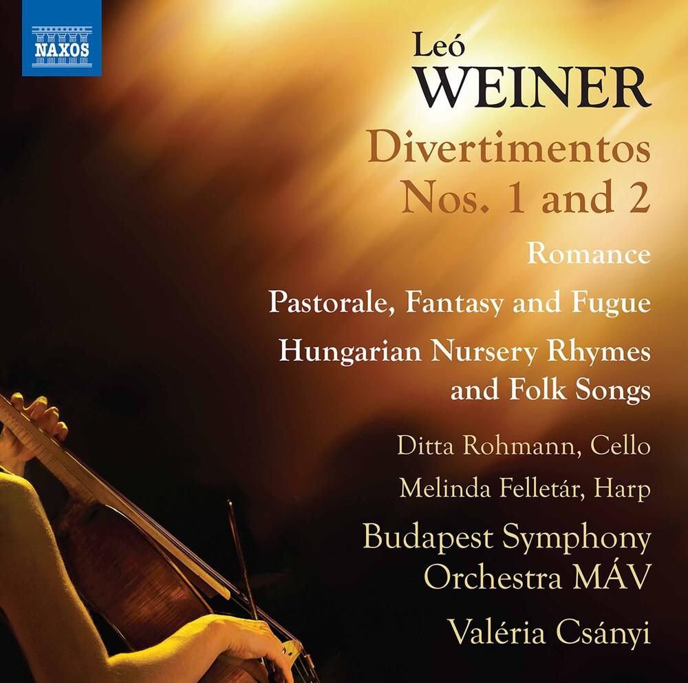 Budapest Symphony Orchestra MÁV - Divertimentos 1 & 2