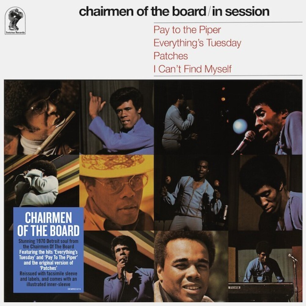 Chairmen Of The Board - In Session (Blk) (Ofgv) (Uk)