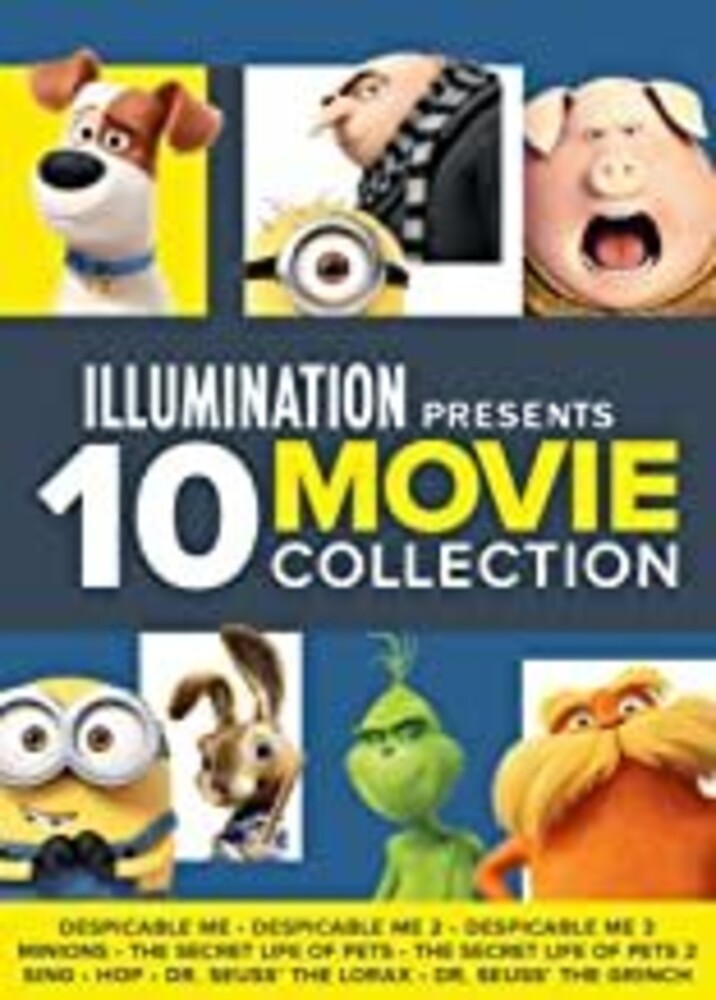 Illumination Presents: 10-Movie Collection - Illumination Presents: 10-Movie Collection (10pc)