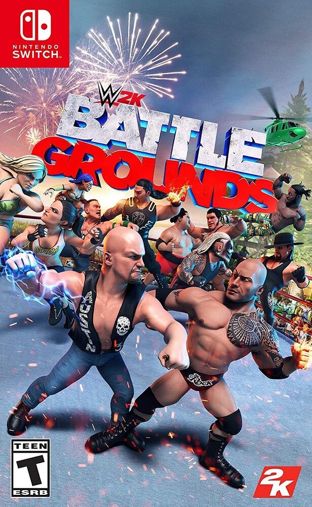 Swi WWE 2K Battlegrounds - Swi Wwe 2k Battlegrounds