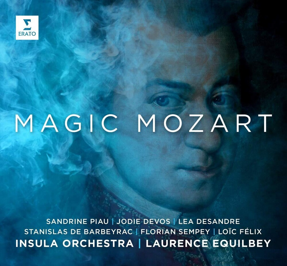 Sandrine Piau / Desandre,Lea / Devos,Jodie - Magic Mozart (Arias & Scenes) [Digipak]
