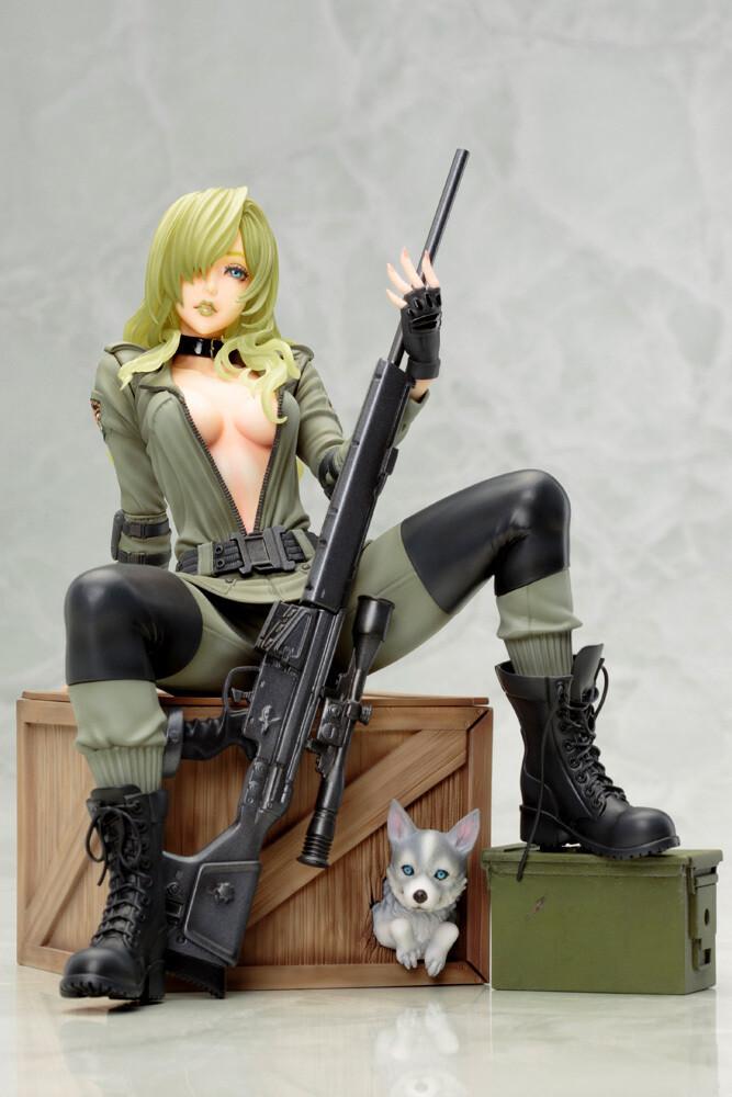 Metal Gear Solid - Sniper Wolf Bishoujo Statue - Kotobukiya - Metal Gear Solid - Sniper Wolf Bishoujo Statue