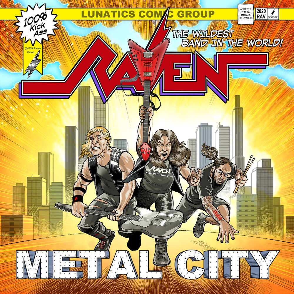 Raven - Metal City [LP]