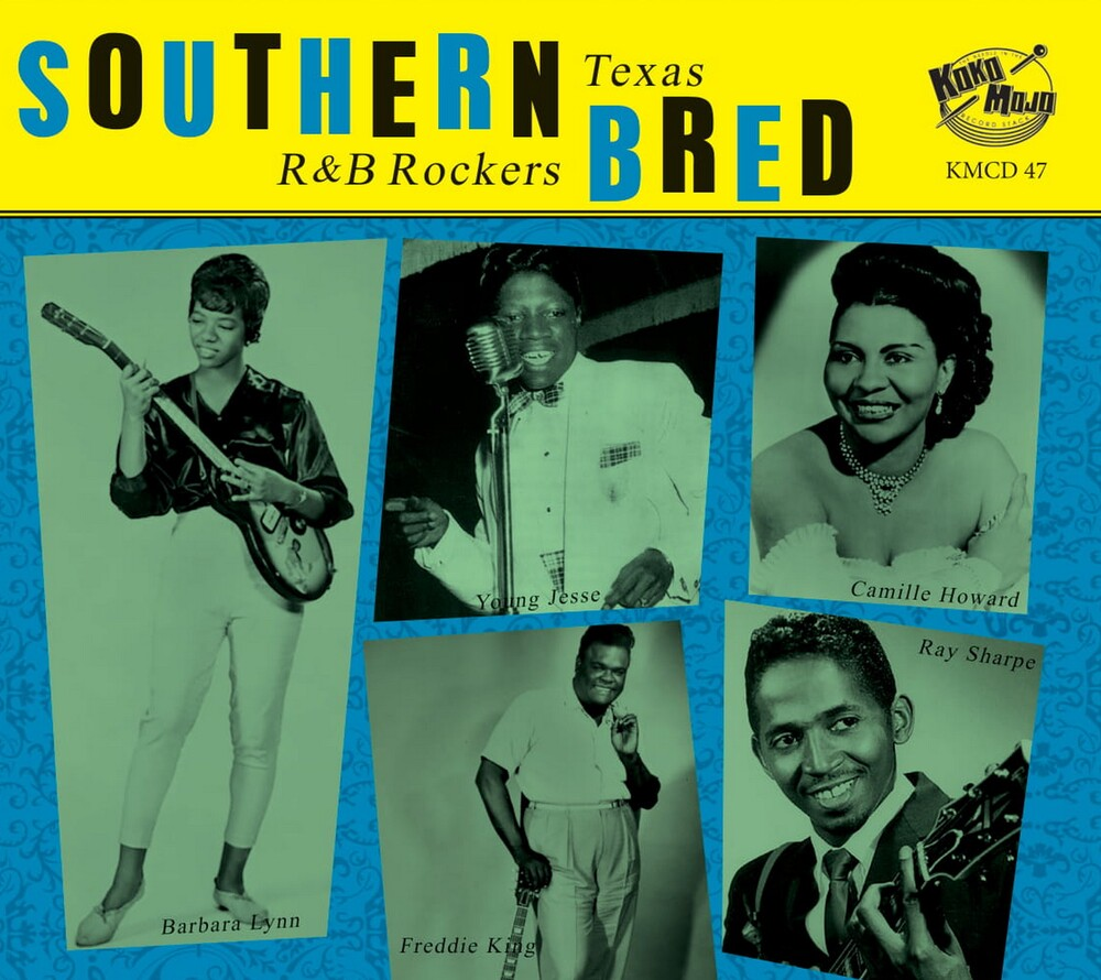 Southern Bred 9 Texas R&B Rockers / Various - Southern Bred 9 Texas R&B Rockers / Various