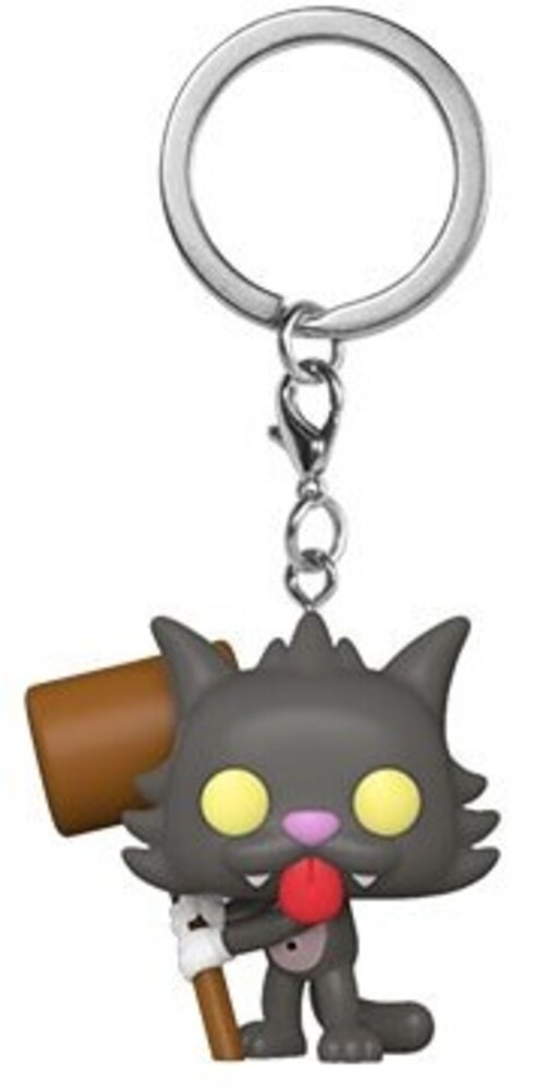 - FUNKO POP! KEYCHAIN: Simpsons- Scratchy