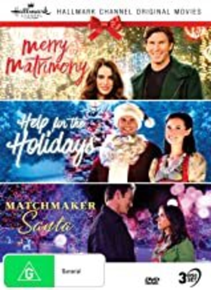 Hallmark Xmas 6: Merry / Help for / Matchmaker - Hallmark Christmas 6 (Merry Matrimony / Help For The Holidays / Matchmaker Santa) [NTSC/0]