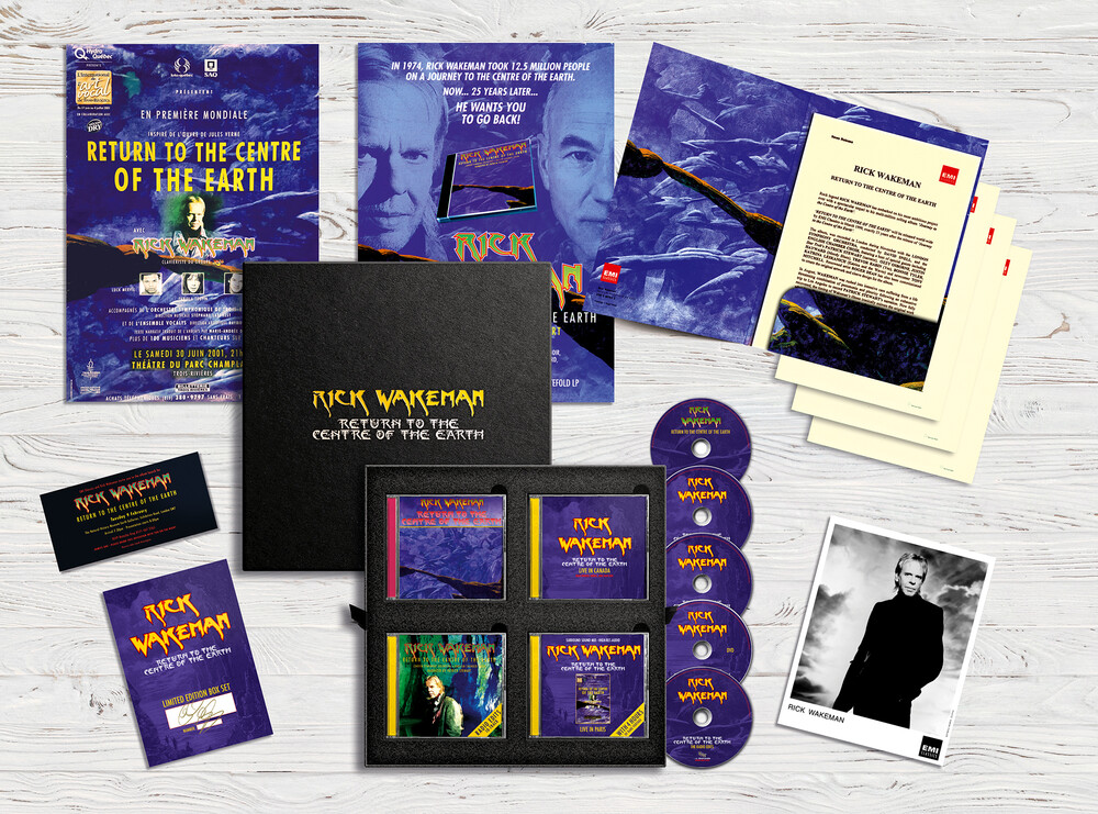 Rick Wakeman - Return To The Centre Of The Earth (W/Dvd) (Box)