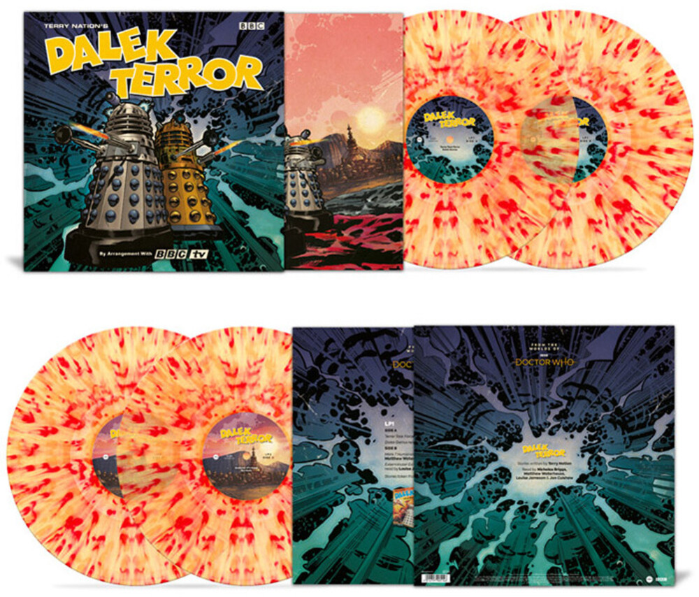 Doctor Who (Colv) (Ogv) (Iex) (Uk) - Dalek Terror [180-Gram 'Extermination Splatter' Colored Vinyl]