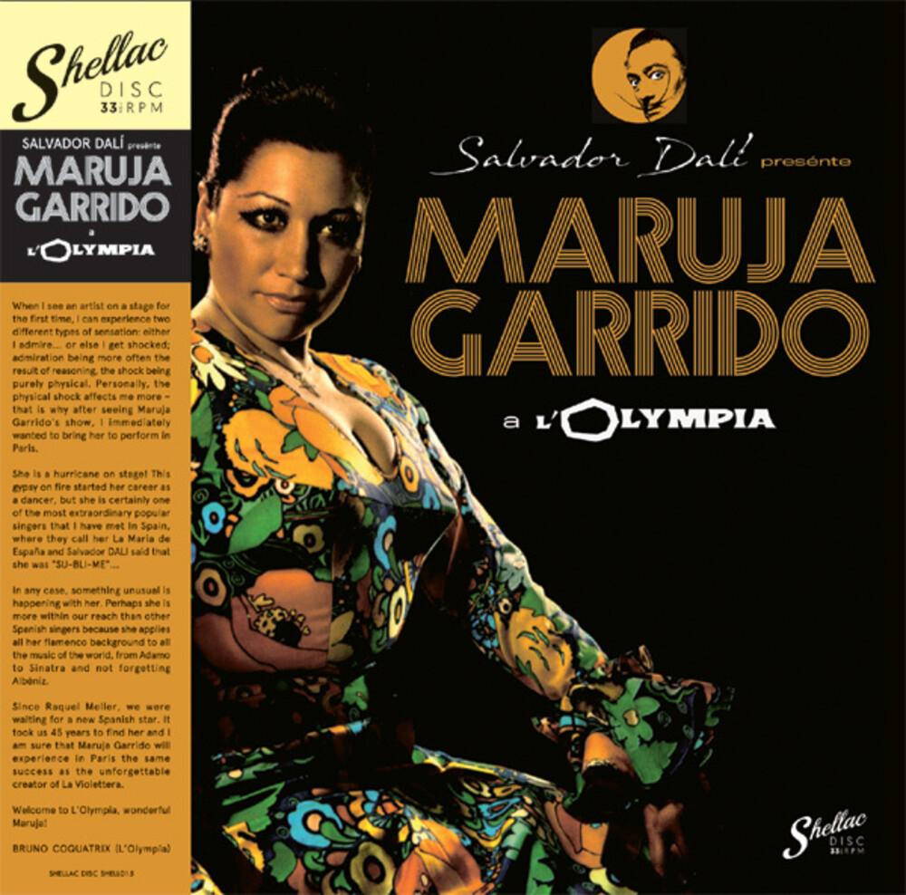 Maruja Garrido - Salvador Dali Presente M.G. A L'Olympia