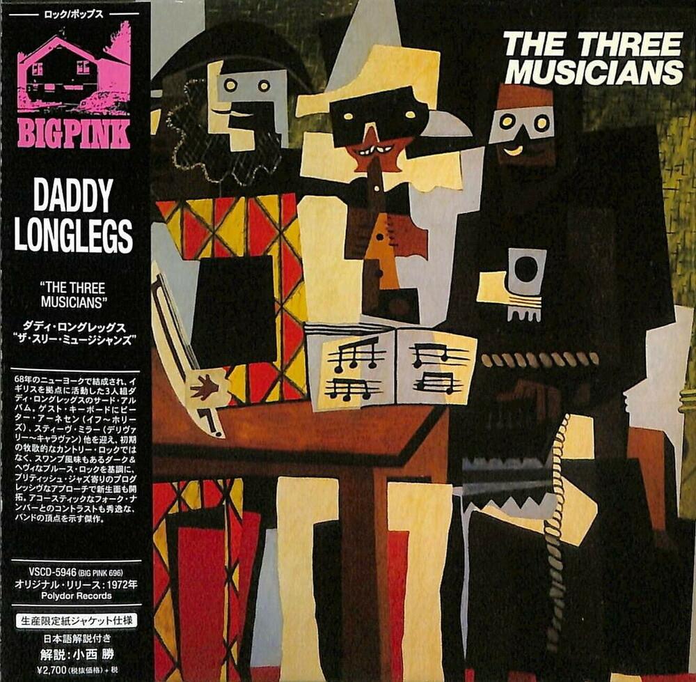 Daddy Longlegs - Three Musicians (Paper Sleeve)