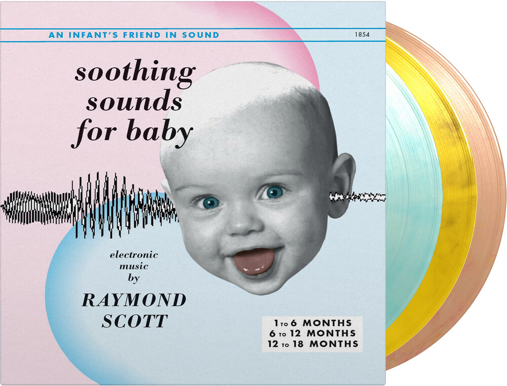 Raymond Scott - Soothing Sounds For Baby Vol. 1-3