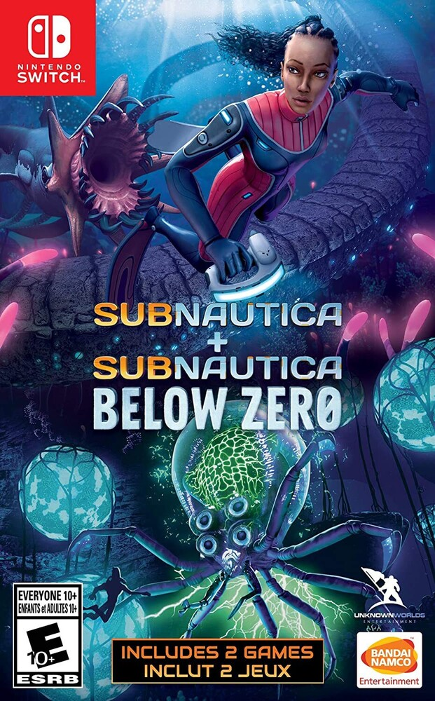 Swi Subnautica: Below Zero + Subnautica - Subnautica + Subnautica: Below Zero for Nintendo Switch