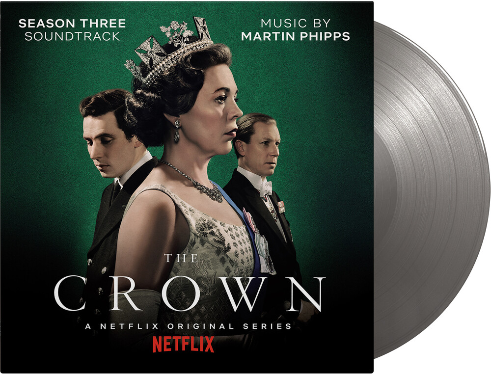 Martin Phipps  (Ltd) (Ogv) (Slv) (Iex) - Crown: Season 3 / O.S.T. [Limited Edition] [180 Gram] (Slv) [Indie Exclusive]