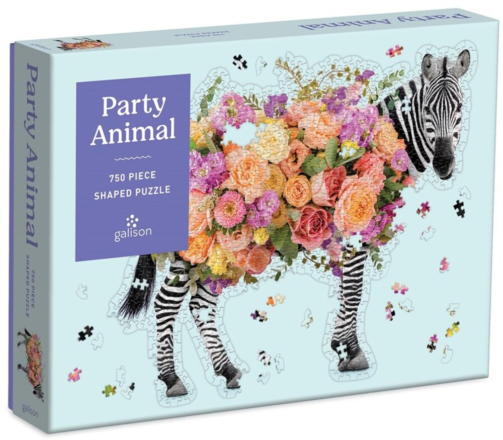 - Party Animal 750 Piece Shaped Puzzle