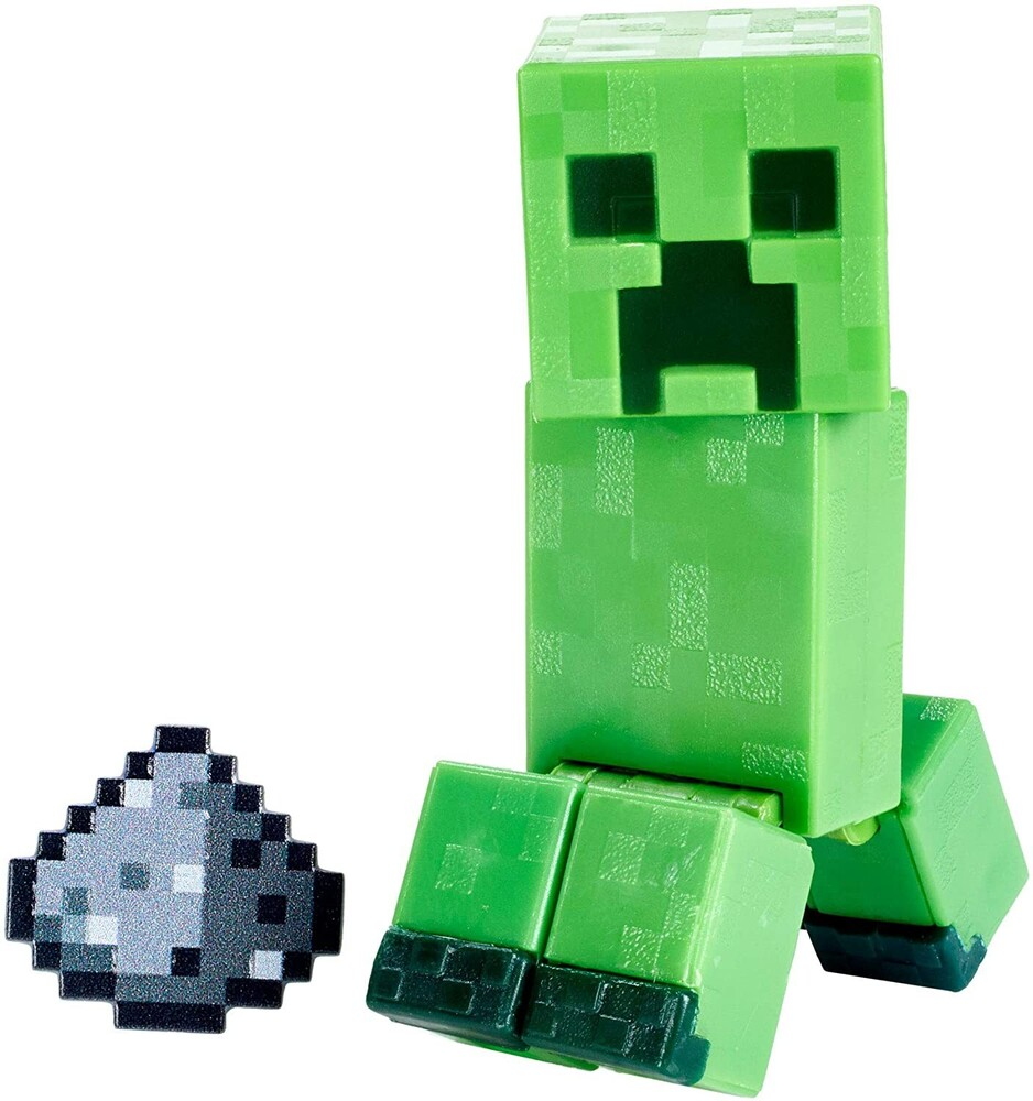 - Mattel Collectible - Minecraft 3.25 Creeper