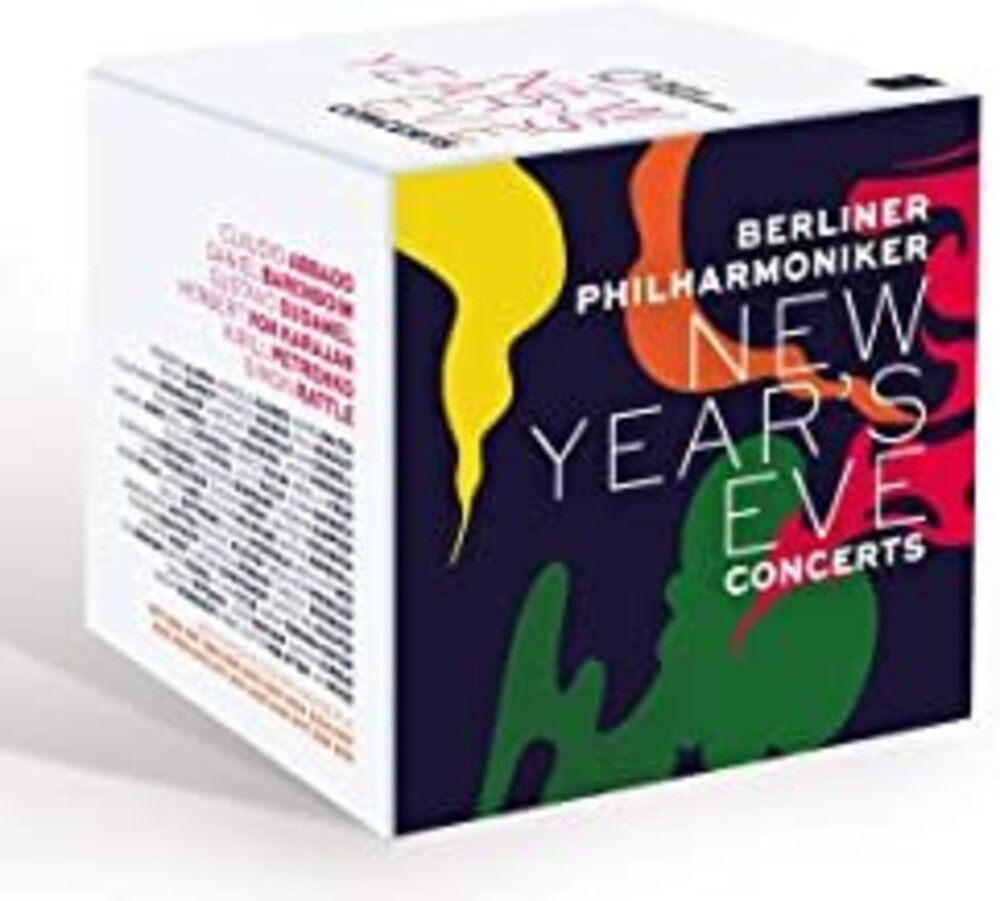 - New Years Eve Concerts - 20 Blu-Ray Box - 20 Con