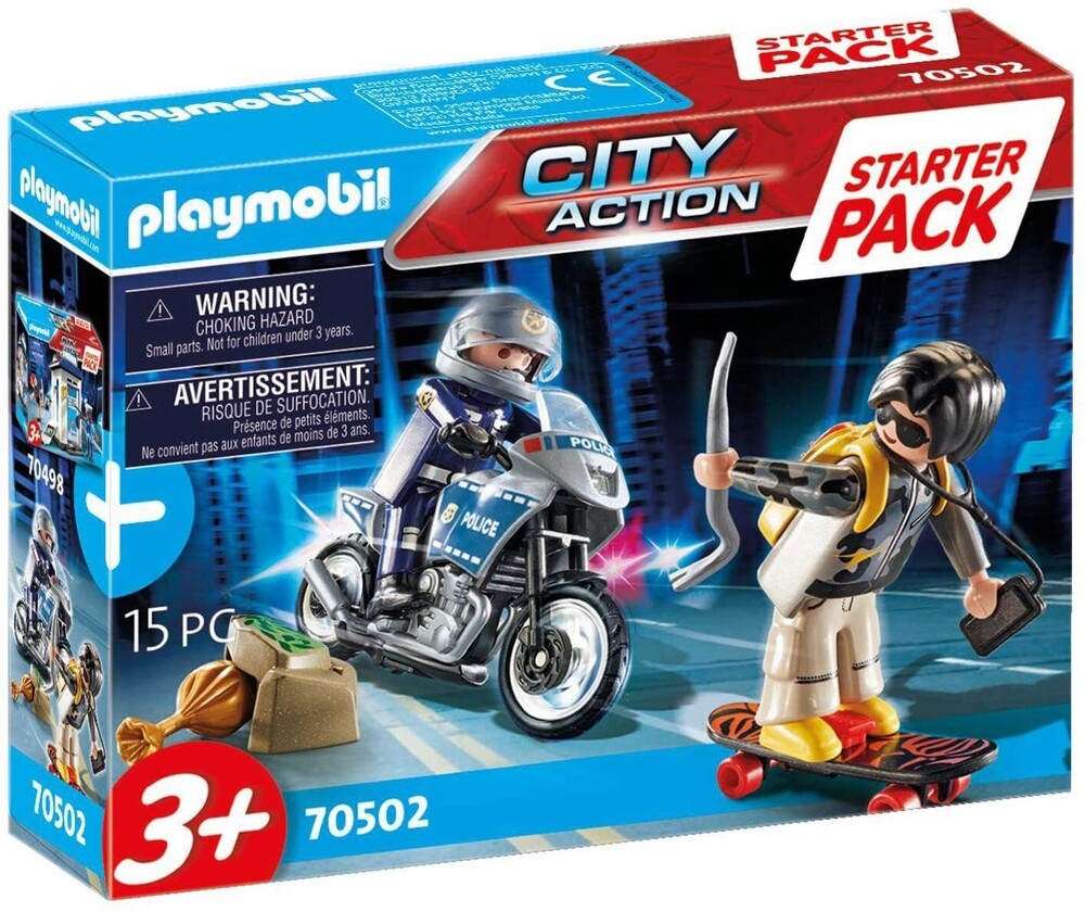 - City Action Police Chase Starter Pack (Fig)