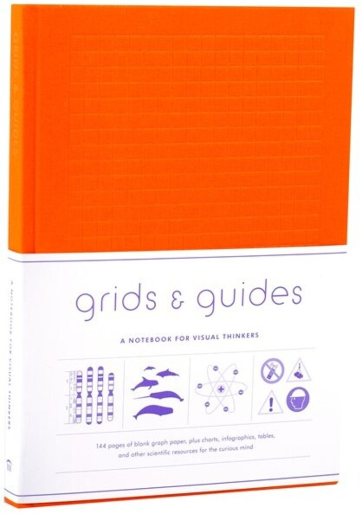 Princeton Architectural Press - Grids & Guides Orange A Notebook For Visual (Hcvr)