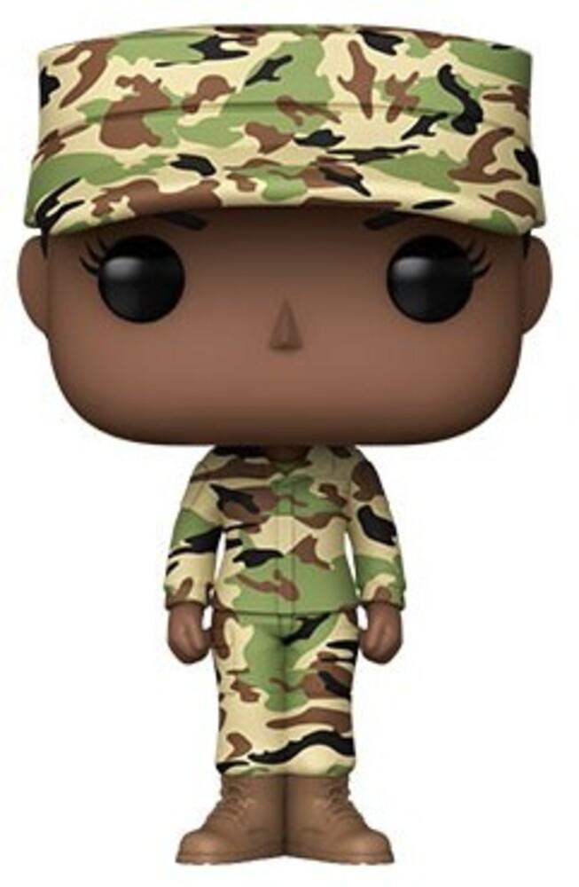 Funko Pop! Millitary: - Air Force Female - A (Vfig)
