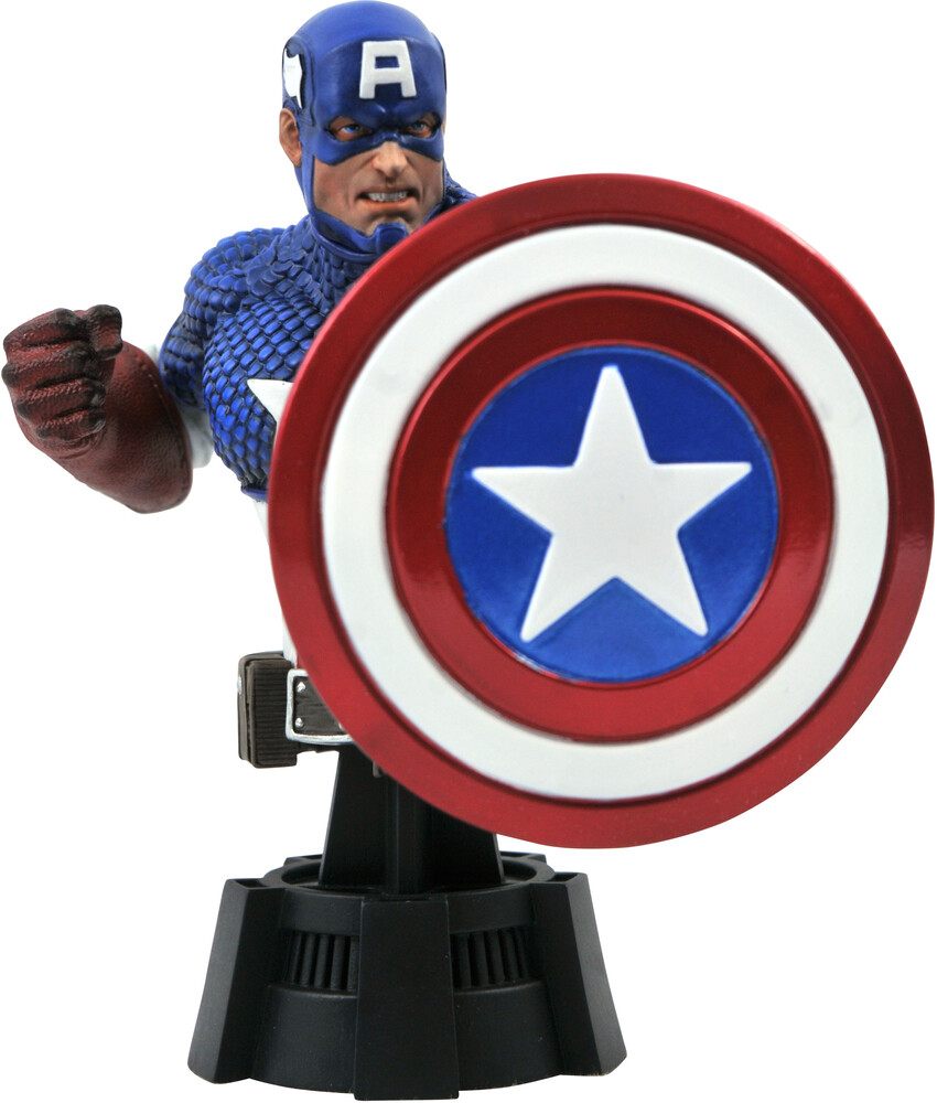 - Marvel Comic Captain America Bust (Clcb) (Stat)