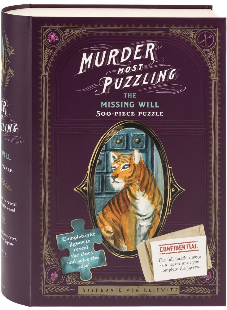 - Murder Most Puzzling The Missing Will 500 Piece