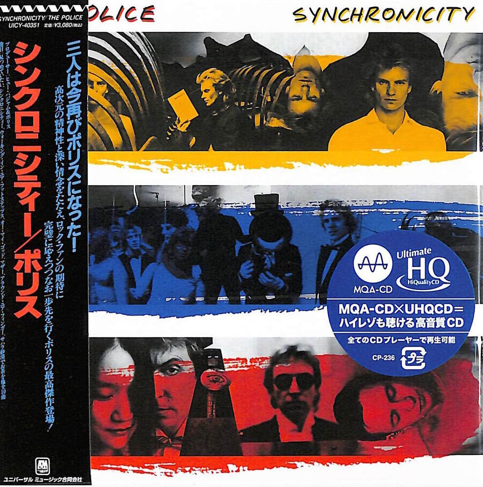 The Police - Synchronicity (UHQCD x MQA) (Paper Sleeve)
