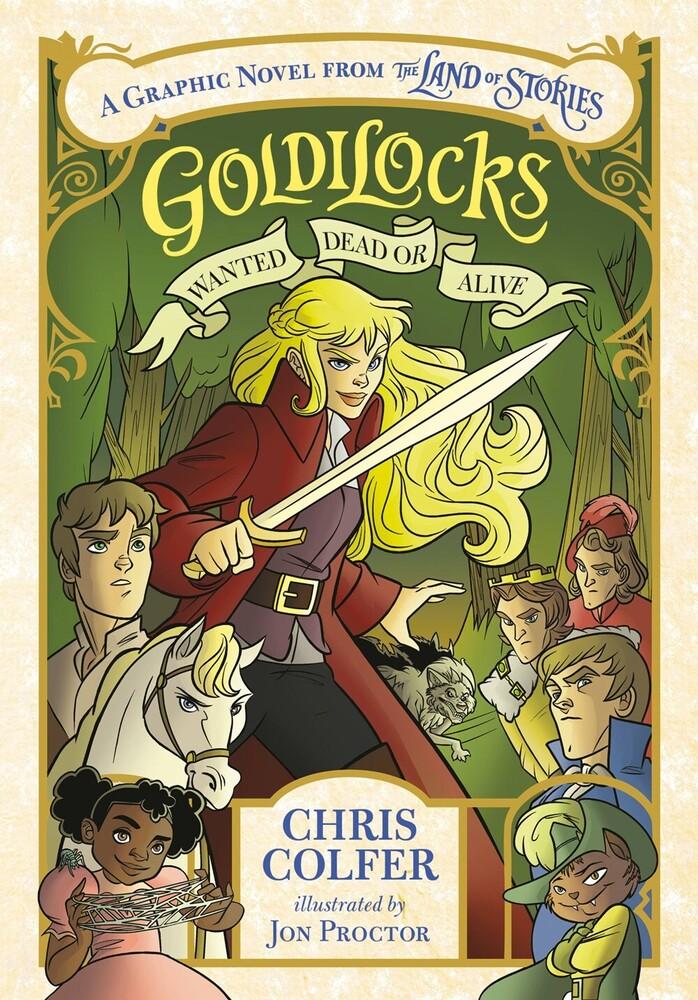Chris Colfer  / Proctor,Jon - Goldilocks (Gnov) (Ppbk)