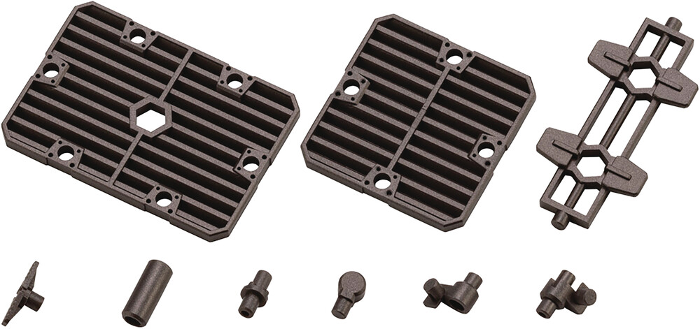 - Hexa Gear - Block Base 06 Slat Plate Option (Clcb)