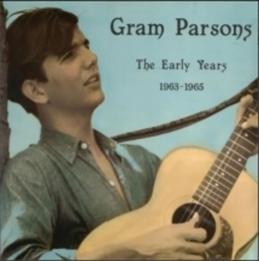 Gram Parsons - Early Years (Bonus Cd) [With Booklet]