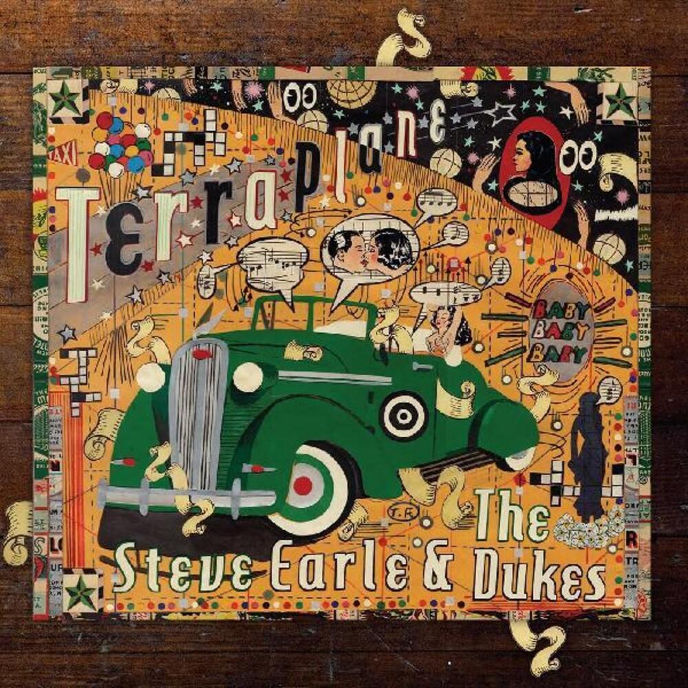 Steve Earle - Terraplane (Transparent Gold Vinyl) [Clear Vinyl] (Gol)