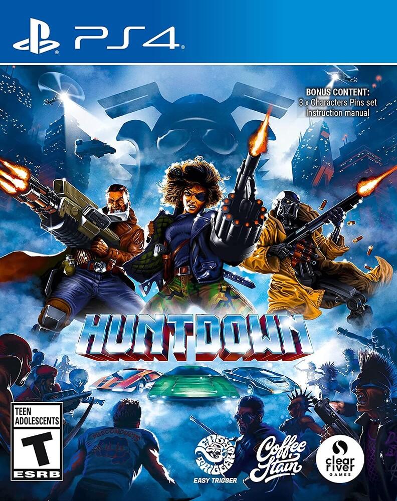 Ps4 Huntdown - Huntdown Standard Edition for PlayStation 4