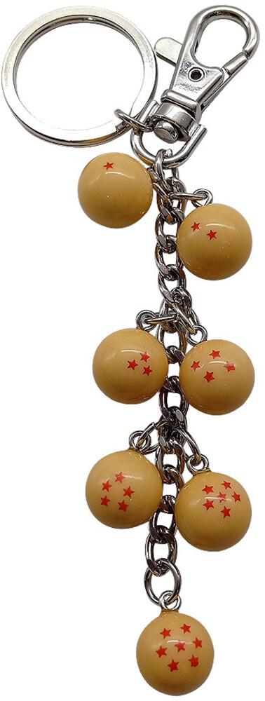 Dragon Ball Z Dragon Balls Keychain - Dragon Ball Z Dragon Balls Keychain (Clcb) (Key)