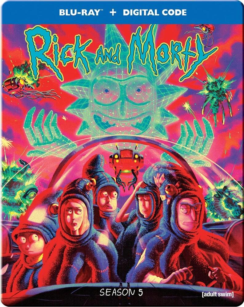 Rick & Morty: The Complete Fifth Season - Rick & Morty: The Complete Fifth Season / (Stbk)