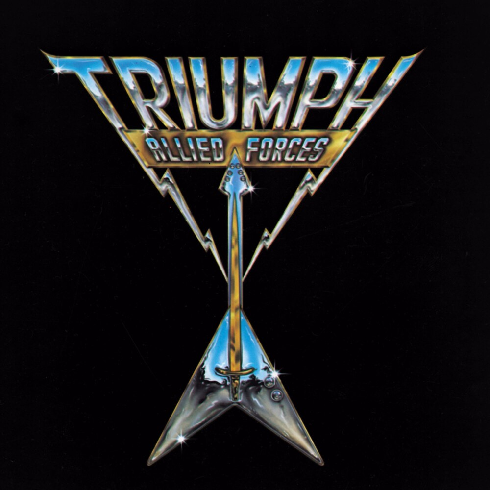 Triumph - Allied Forces [Colored Vinyl] (Gol) [Limited Edition] (Slip)