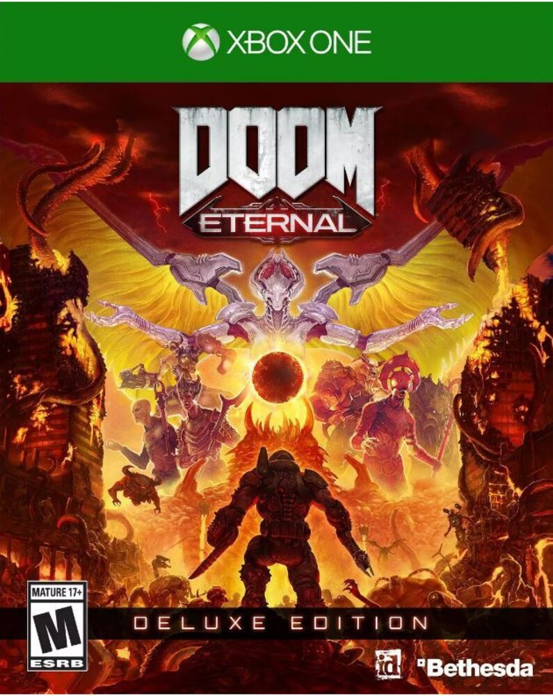 Xb1 Doom Eternal Deluxe Ed - Doom Eternal Deluxe Ed