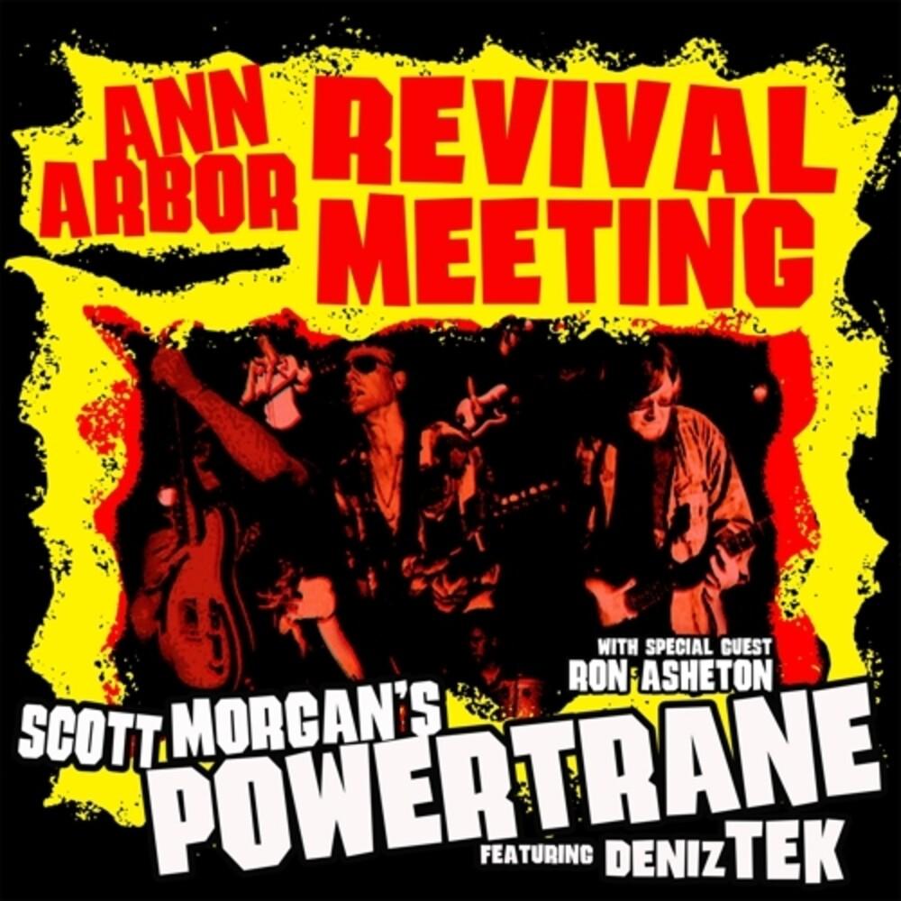 Scott Morgan / Powertrane - Ann Arbor Revival Meeting [Colored Vinyl] [Limited Edition] (Red) (Aus)