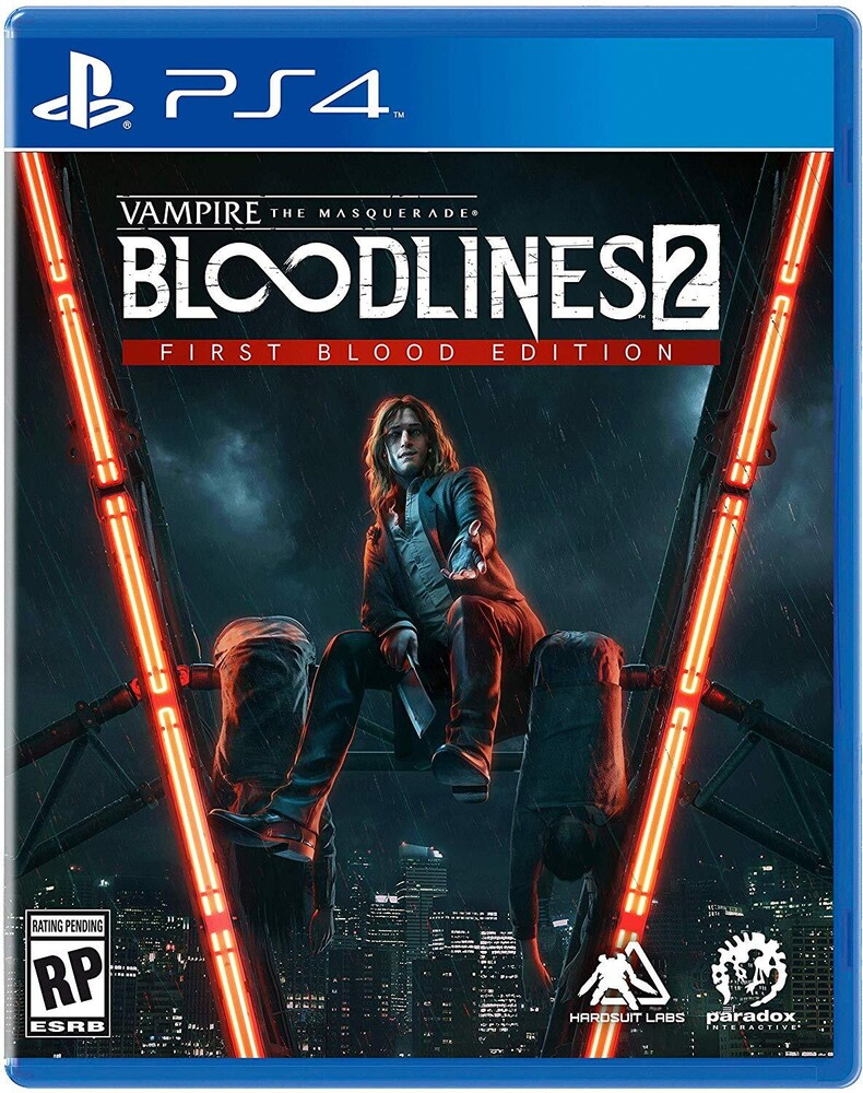 - Ps4 Vampire: Masquerade Bloodlines 2 First Blood