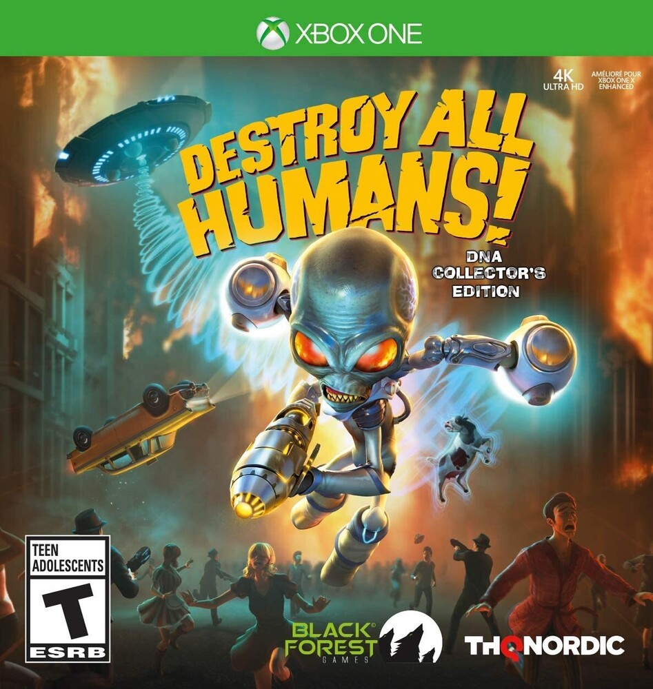 - Destroy All Humans Dna Collectors Ed