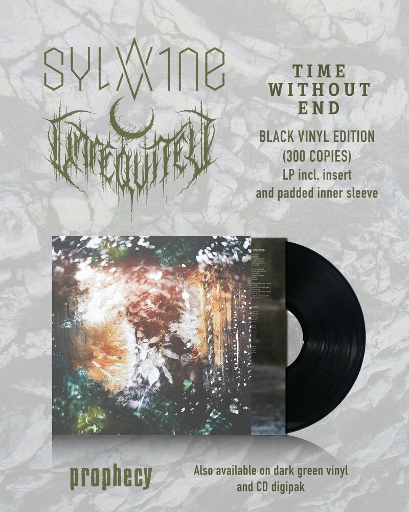 Sylvaine / Unreqvited - Time Without End (Blk) [Limited Edition]