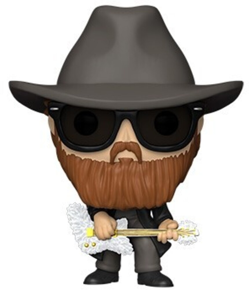 - FUNKO POP! ROCKS: ZZ Top - Billy Gibbons (Flocked)