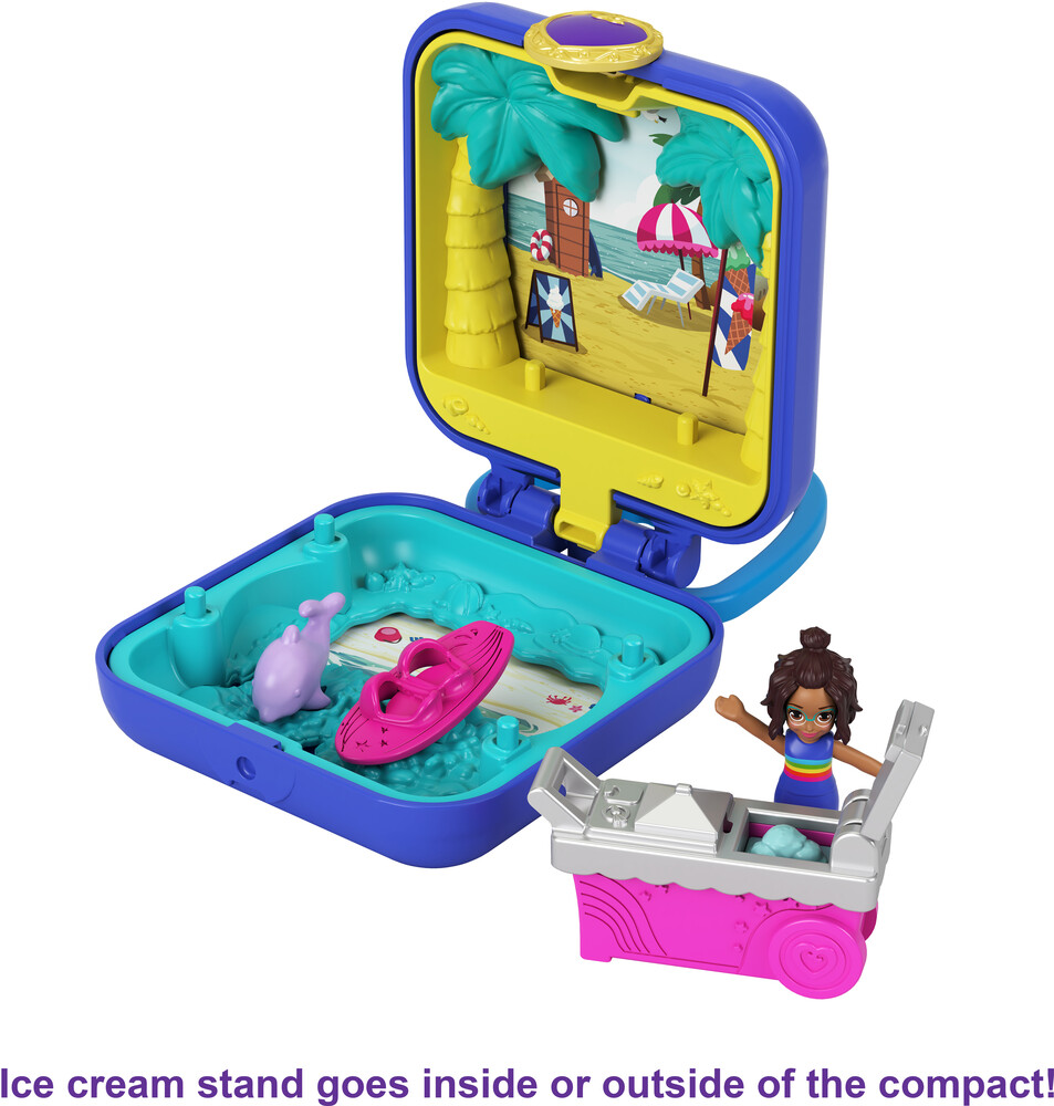 Polly Pocket - Mattel - Polly Pocket Tiny Compact, Summer