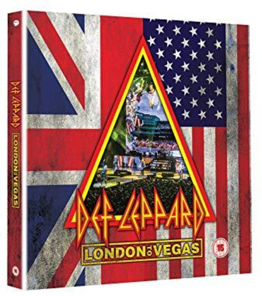 Def Leppard - London to Vegas [Limited Edition Deluxe 2 Blu-ray 4 CD]