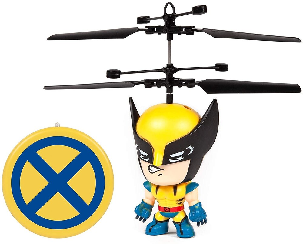 - Marvel 3.5 Inch: Wolverine Flying Figure IR Helicopter (Marvel, X-Men, Wolverine)