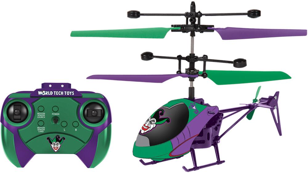 Ir Helicopter - DC Joker 2ch IR Helicopter (DC, Joker)