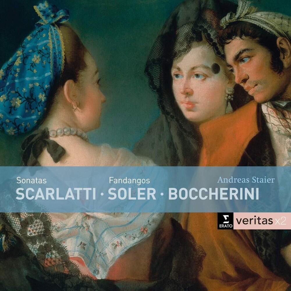 Andreas Staier - Scarlatti: Sonatas / Variaciones Del Fandango