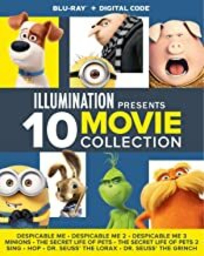 Illumination Presents: 10-Movie Collection - Illumination Presents: 10-Movie Collection